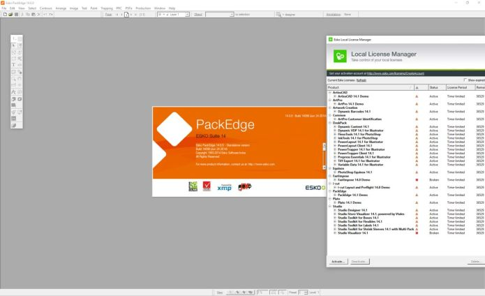 Working with PackEdge 14.0 & Plato 14.0 full