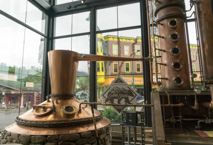 Moonshine Distillery Tour - Sugarlands Distilling, Gatlinburg, Tenn.