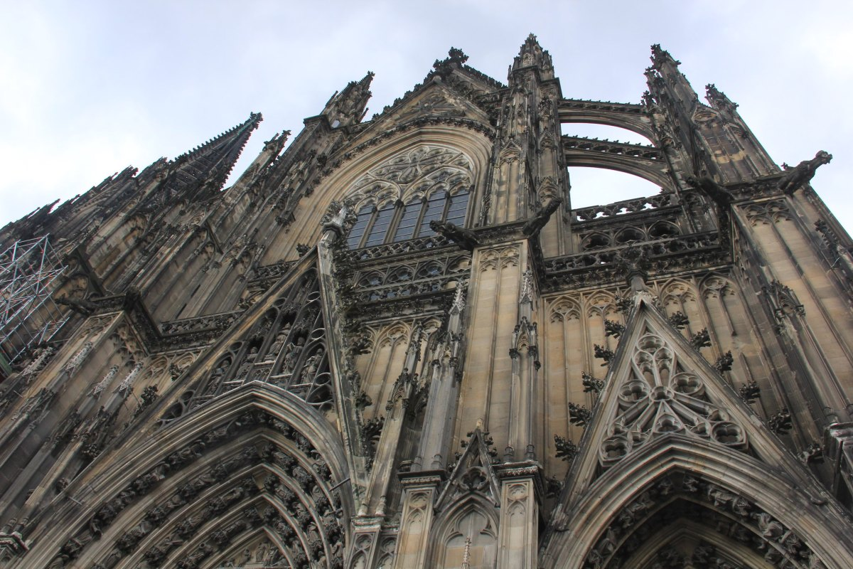 The stunning facade of the Cologne Dom