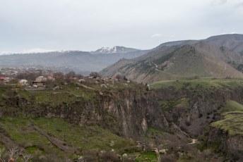 Op de terugweg naar Yerevan, is het de bedoeling dat je nog even stopt bij Garni.