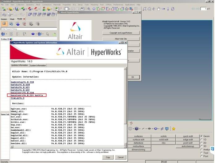 Altair HWSolvers 14.0.231 HotFix Win-Linux 64bit full crack