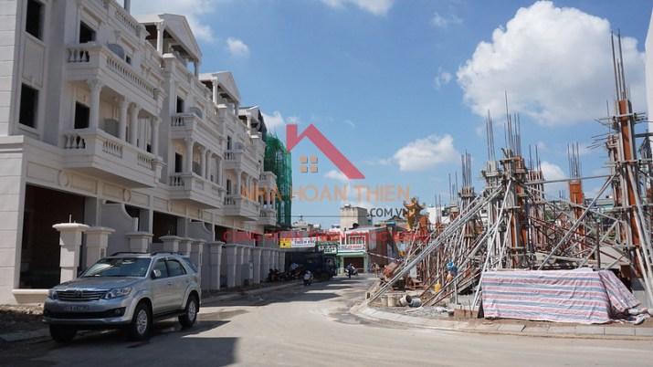 Hình ảnh thực tế dãy nhà phố L33 tại dự án Cityland Park Hills – Gò Vấp.