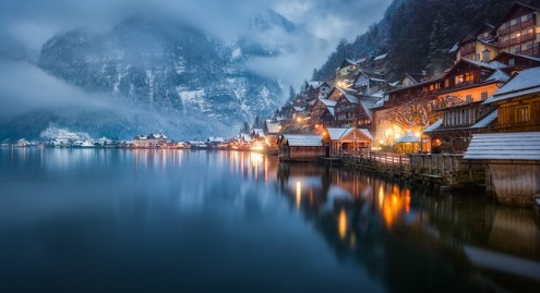 Top Landscape Photography of 2017   a gallery on Flickr Hallstatt Residential