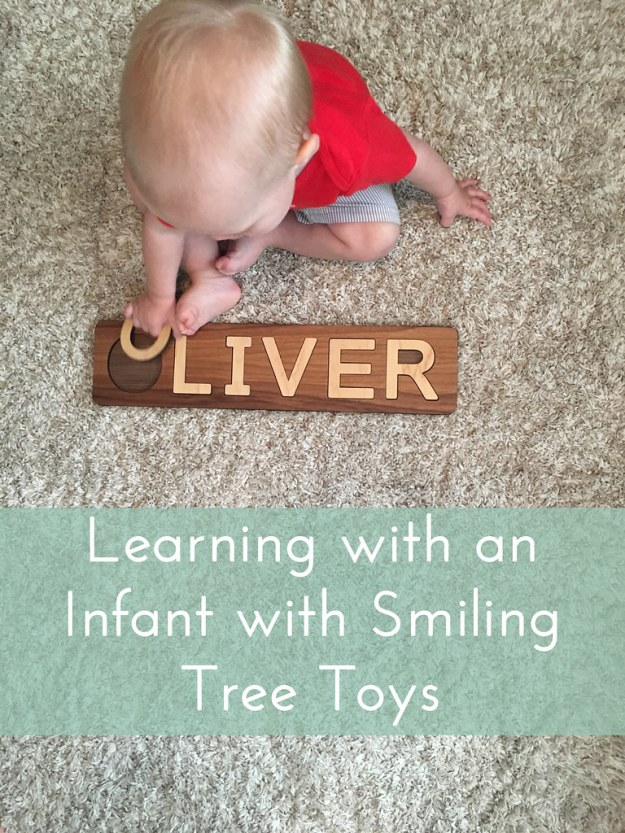 Learning with an Infant with Smiling Tree Toys