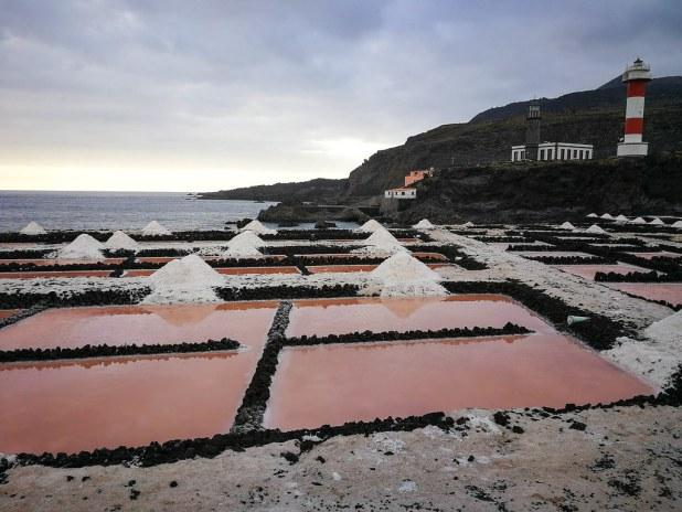 Salinas de Fuencaliente en La Palma