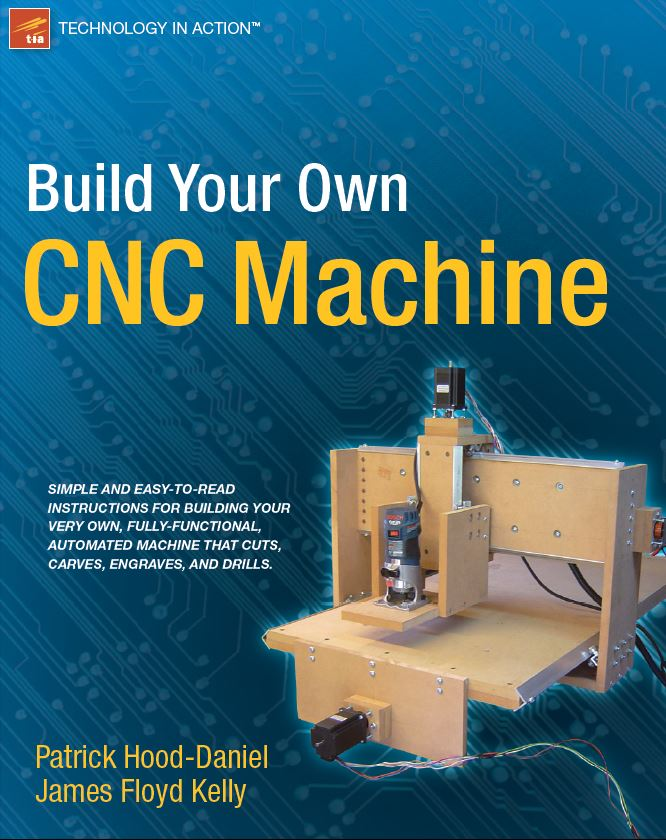 build your own CNC machine ebook
