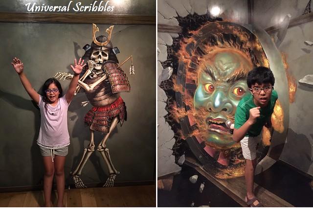 Tokyo Trick-Art Scary Monster