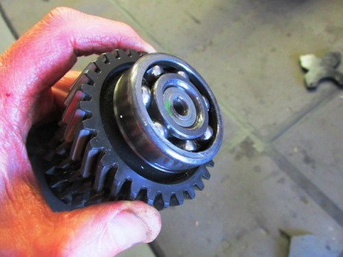 Intermediate Shaft Front Ball Bearing Without Rubber Cover