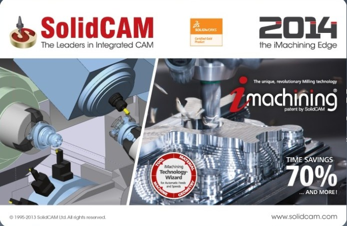 SolidCAM 2014 SP5 HF4 for SolidWorks 2012-2015
