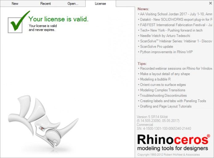 Rhinoceros 5 SR13 full crack