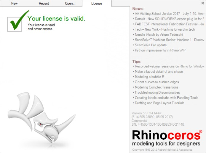 rhinoceros 5 license key rh50