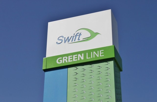 Swift Green Line logo