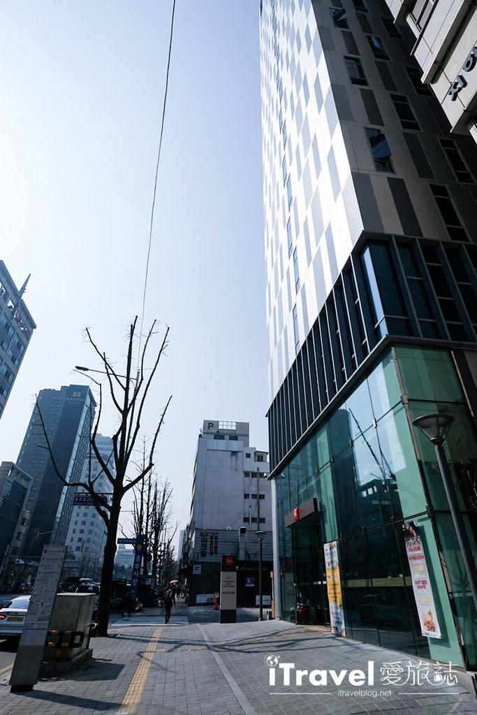 《首尔饭店推荐》宜必思大使酒店:东大门商圈平价连锁酒店