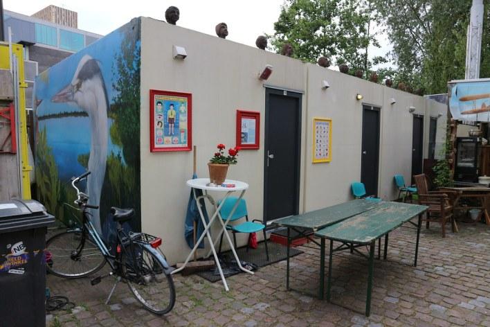 Dónde dormir y alojamiento en Eindhoven (Holanda) - Inkijkmuseum Spacebox A.
