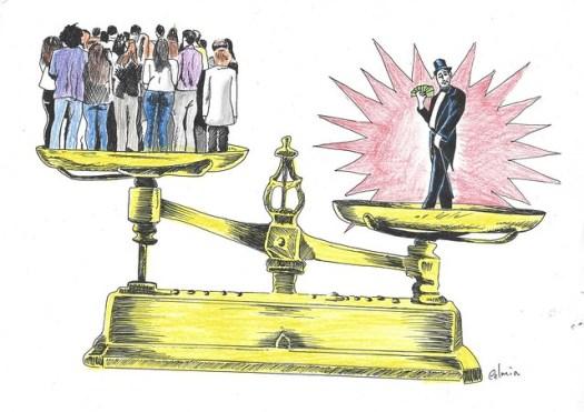 Para desmontar a democracia social vigente, passaram a comprar os representantes do povo nos três poderes constituídos da República - Créditos: Reprodução