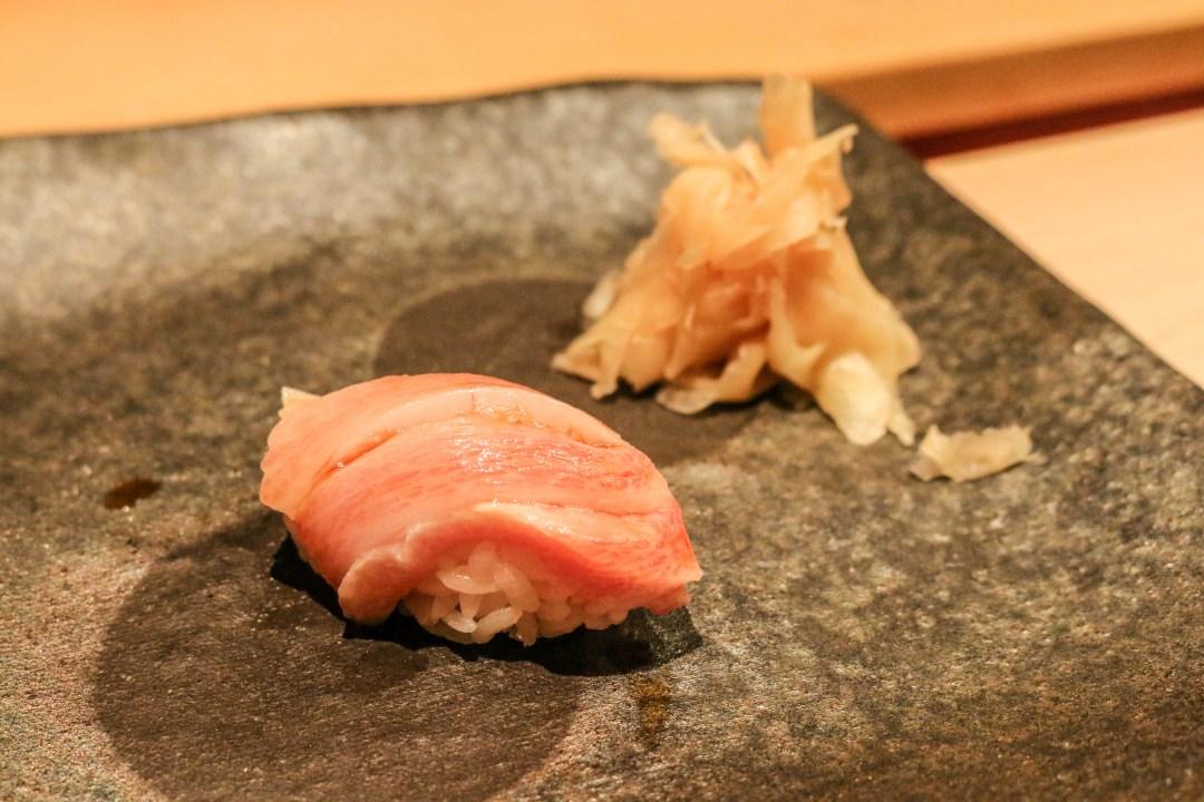 Otoro (fatty tuna) sushi