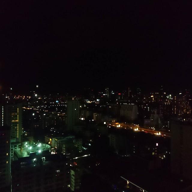 このホテルでの最後の晩になってしまいました。#バンコク はただいま23時。こんなに楽しいとは思いませんでした。#lovethailand #amazingthailand #Bangkok #thelandmarkbangkok #タイ旅行