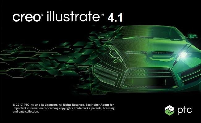 PTC Creo Illustrate 4.1 F000 full license