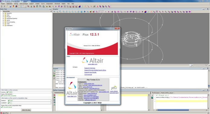 Working with Altair Flux 12.3.1 Win64 full