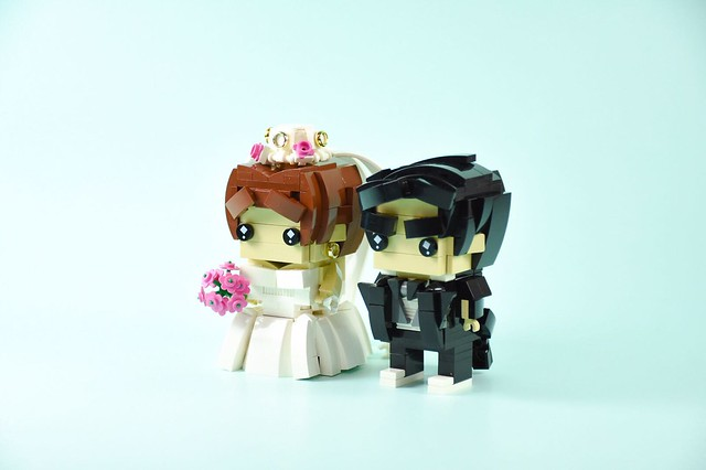 M & B brickheadz Wedding💍