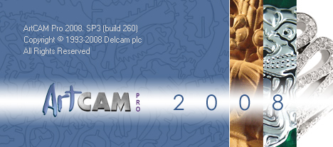 DELCAM ARTCAM 2008 SP3 win32 win64