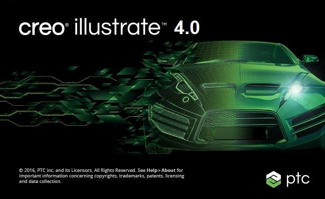 PTC Creo Illustrate 4.0 F000 FULL CRACK