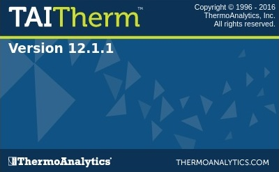 ThermoAnalytics TAITherm 12.1.1 Win+Linux x64