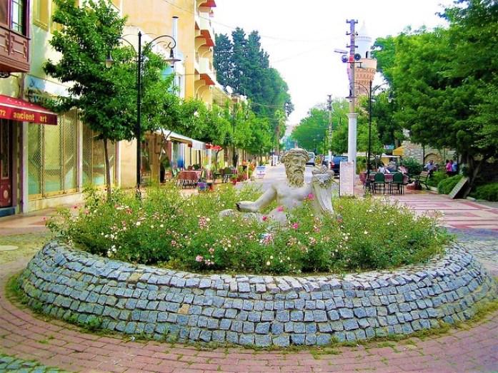 Statue in Selçuk town