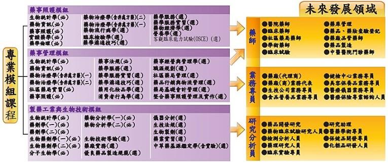 嘉藥課程模組化