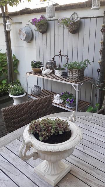 Sidetable tuin
