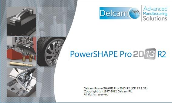Delcam PowerSHAPE 2013 R2 SP0 x86 x64