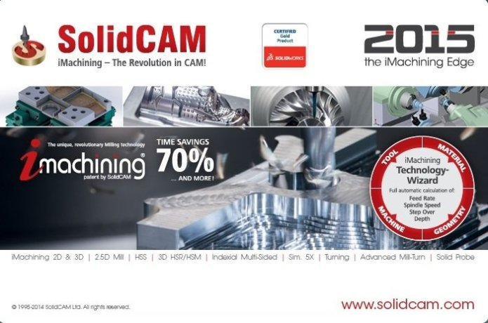 SolidCAM 2015 SP4 HF5 full software