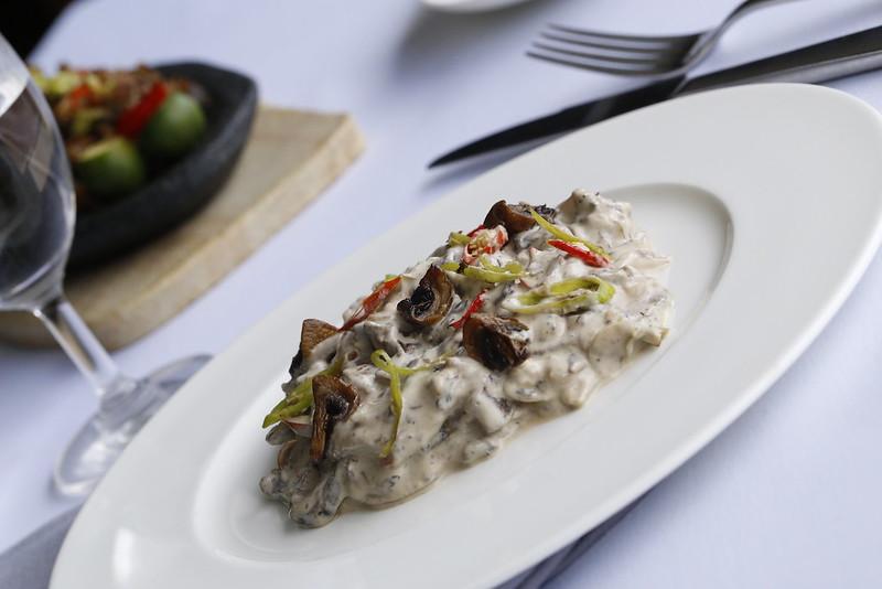 Bicol Express (using mushrooms)