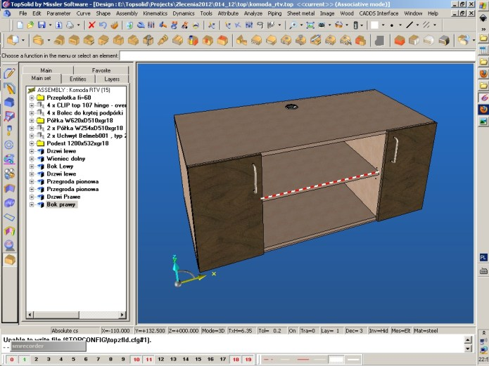 Working with TopSolid 2012 full