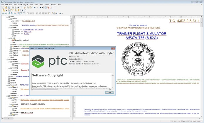 PTC Arbortext Editor 7.0 M060 Win64 full license