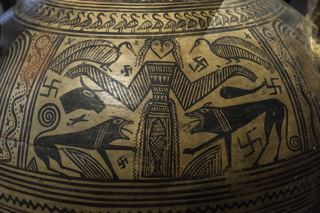 Boeotian Pottery – The Mistress of the Animals