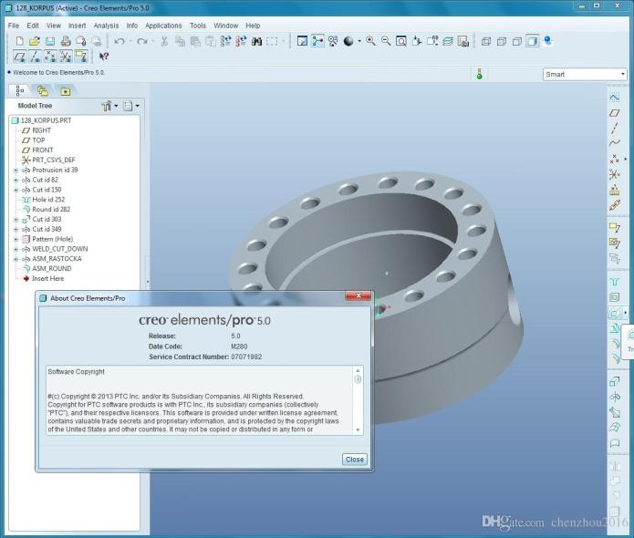 PTC Creo Elements-Pro 5.0 M280 x86 x64