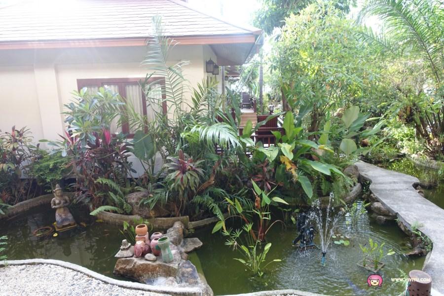 [蘇梅島.住宿]卡諾克布麗度假村 (Kanok Buri Resort)~距離Lipanoi 碼頭超近.海灘戲水看日落超美 @VIVIYU小世界