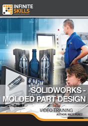 SolidWorks 2014-2016 - Molded Part Design training videos