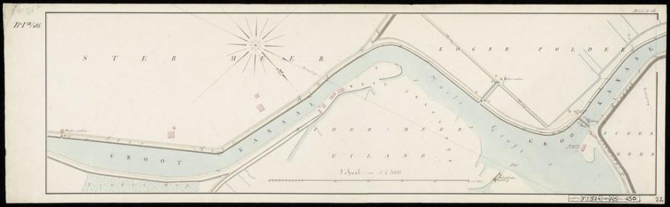 1800 tot 1825 - NH kanaal langs Starnmeer