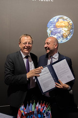 ESA signed a Joint Statement with the Grand Duchy of Luxembourg