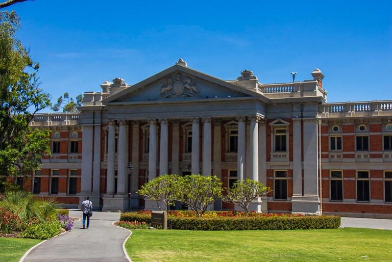 parlamentbygning, Perth