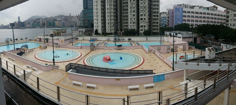 大環山游泳池 習泳池 遊樂池