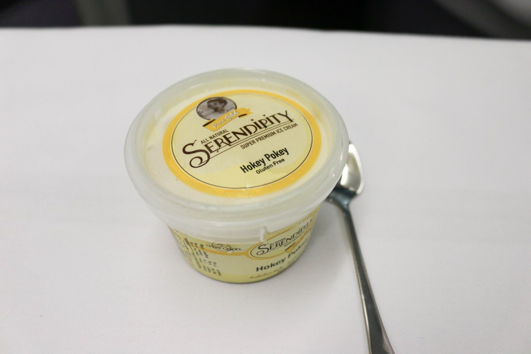 Serendipity ice cream - Hokey Pokey flavour