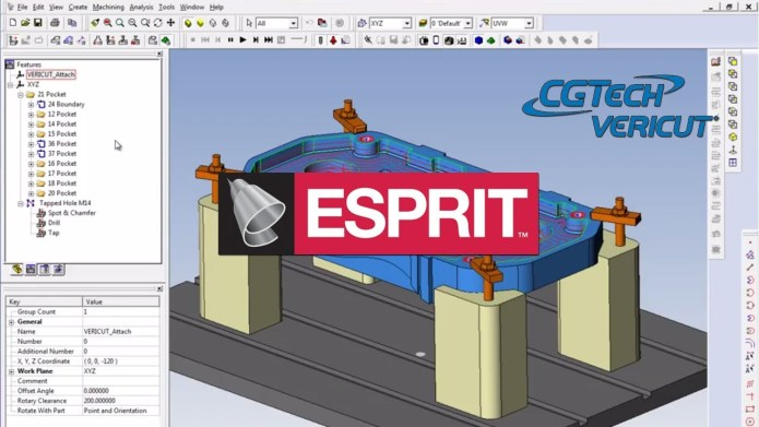 Milling with ESPRIT-2015 R4