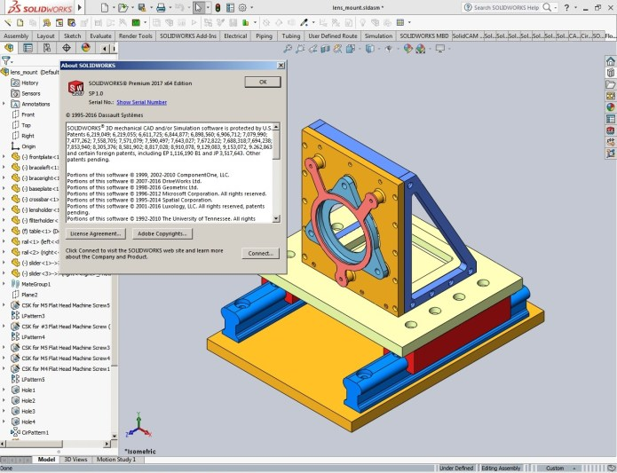 Design with SolidWorks 2017 SP1 full license