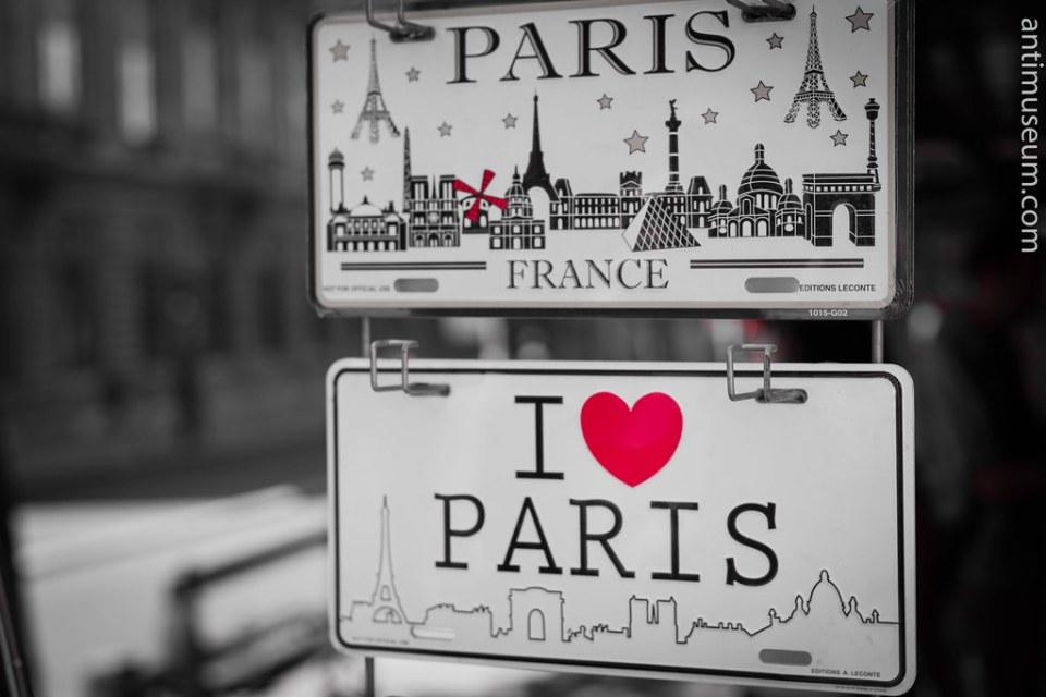 Paris Bridges under the Sun
