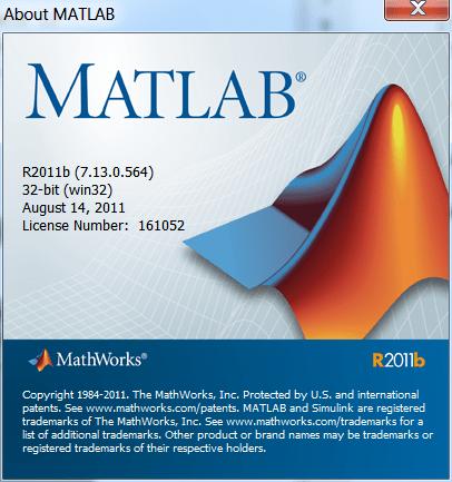 MATLAB R2011b Portable 7.13.0.564 (R2011b) x86