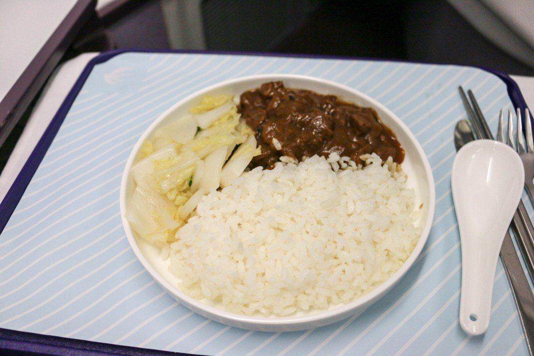 Braised beef with rice
