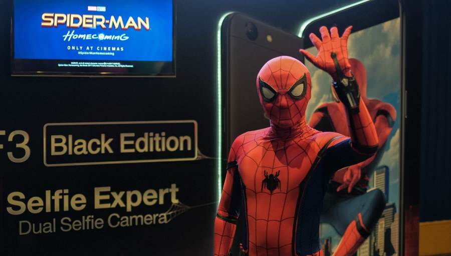 OPPO F3 x Spider Man Homecoming Premier (1 of 4)